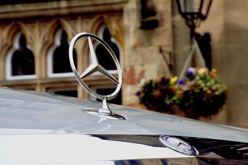 Mercedes S Class Bonnet Star