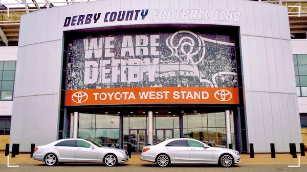 Mercedes Business Travel for Pride Park in Derby