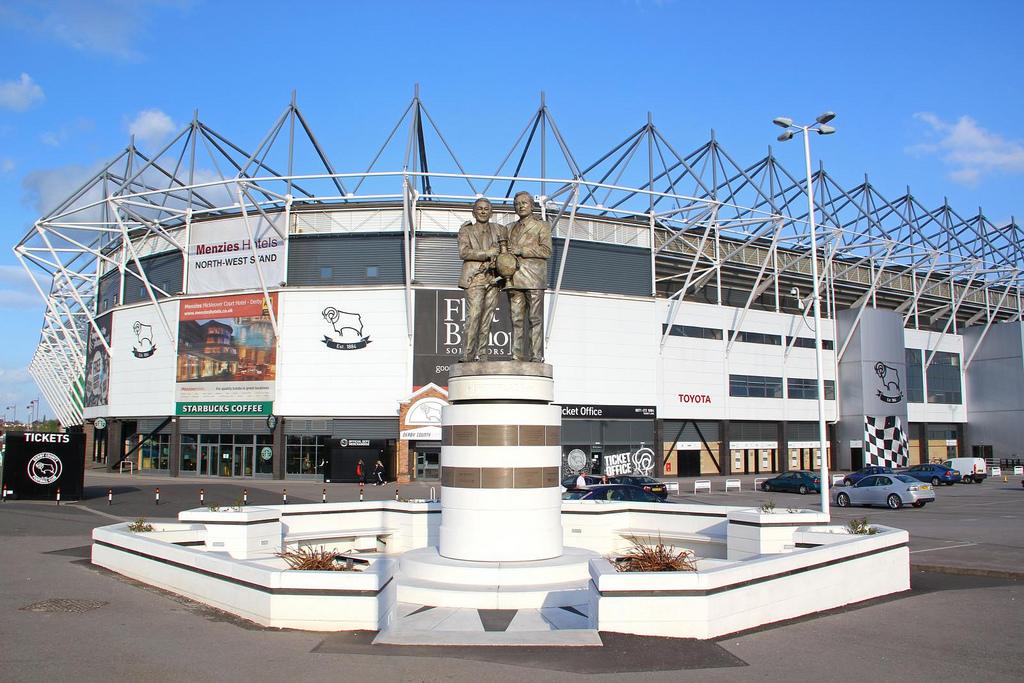 Derby County Pride Park Stadium | A52 Executive Cars