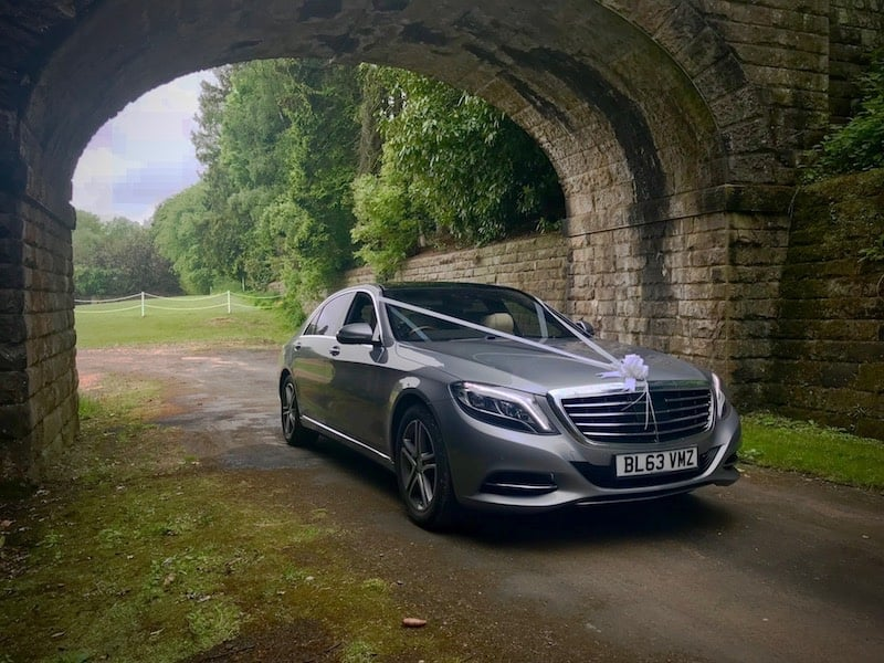 Be Chauffeured in style with the Mercedes S Class elegant interior