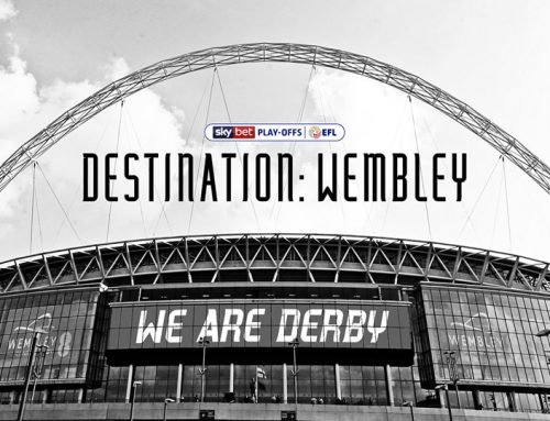 Derby County Football Club Are Wembley Bound