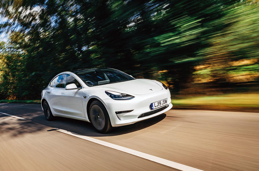 Tesla Electrical vehicle Chauffer