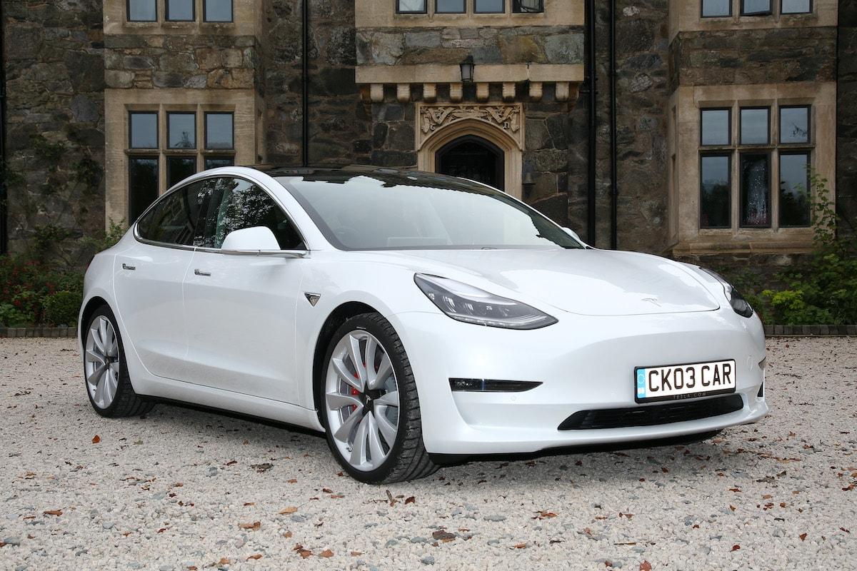 Eco Chauffeur Travel in Derby in the Tesla Model 3