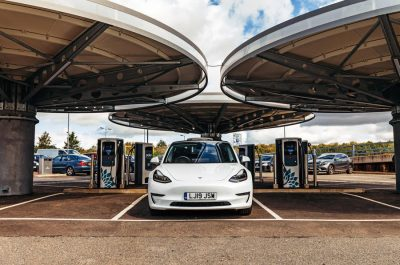Tesla and Chauffeur hire in Derby and the East Midlands
