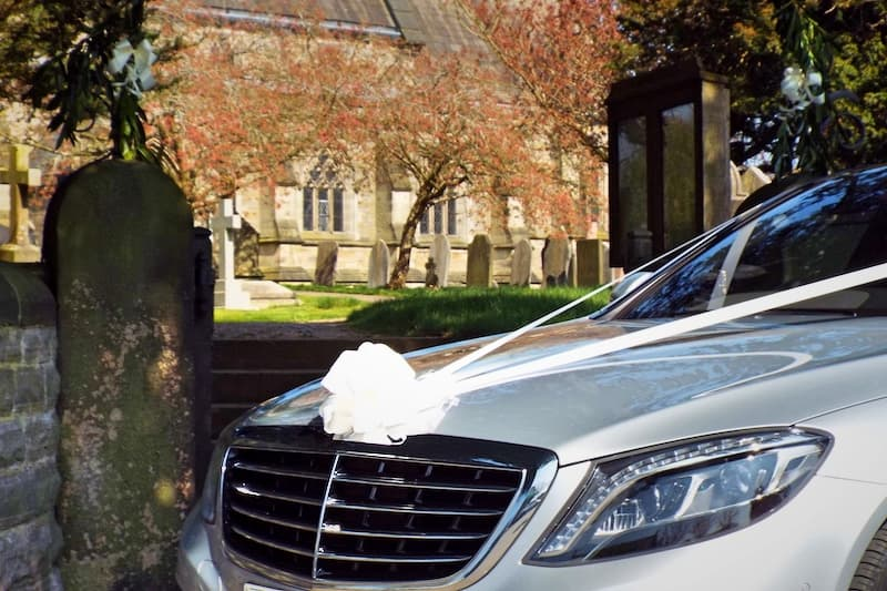 Mercedes S Class Affordable Wedding Car in Derby