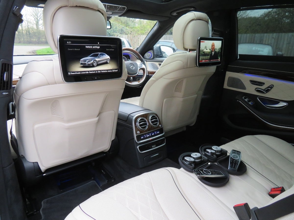 Mercedes S Class, E Class and V Class Mpv's available for chauffeur hire