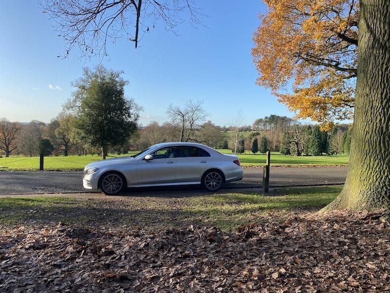 Mercedes Chauffeur Car HIre in Derby