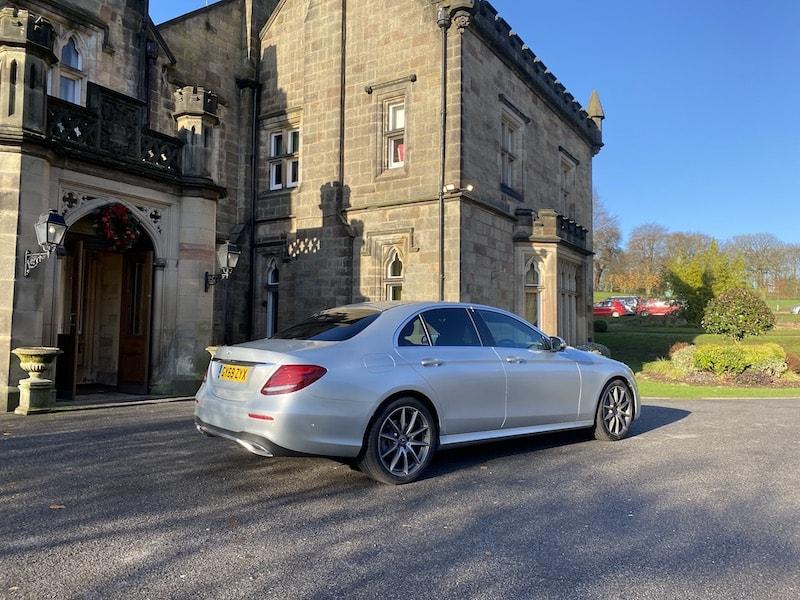 Derby Chauffeur Breadsall Priory Mercedes