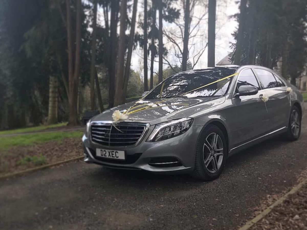 Mercedes S Class Wedding Car