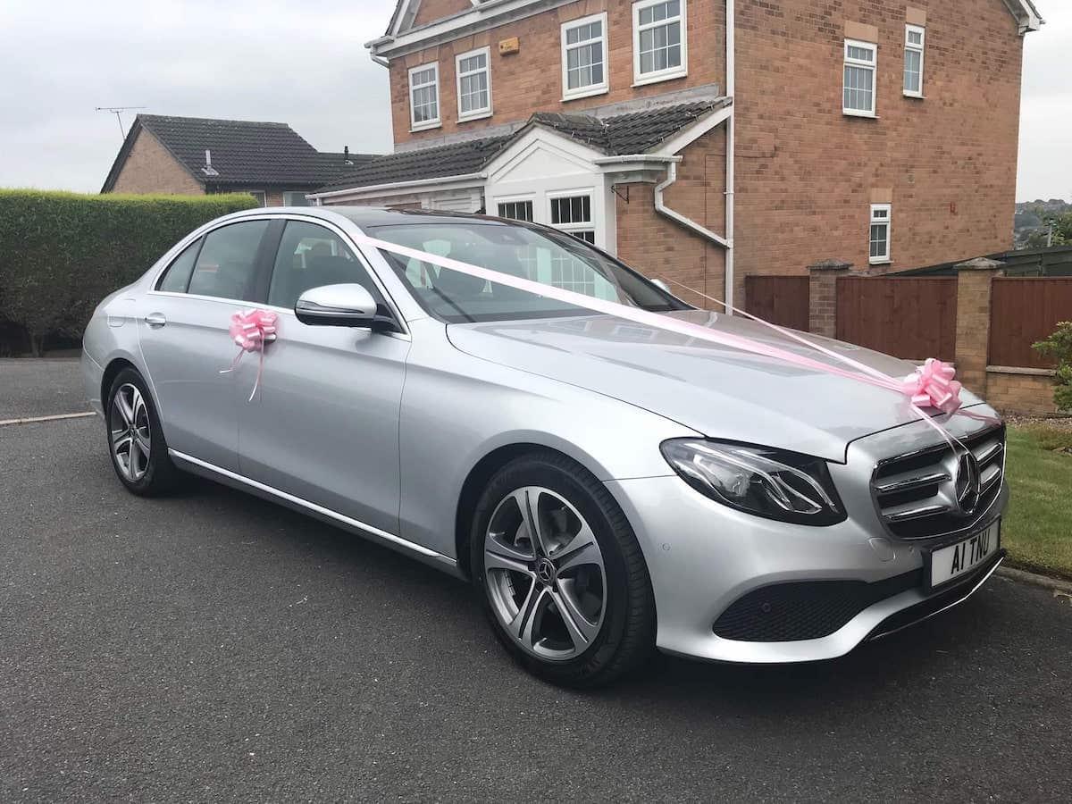 Mercedes E Class Wedding Car in Derby