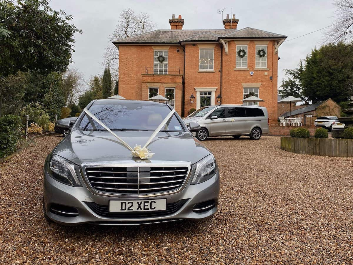Mercedes S Class and V Class wedding cars in Nottingham