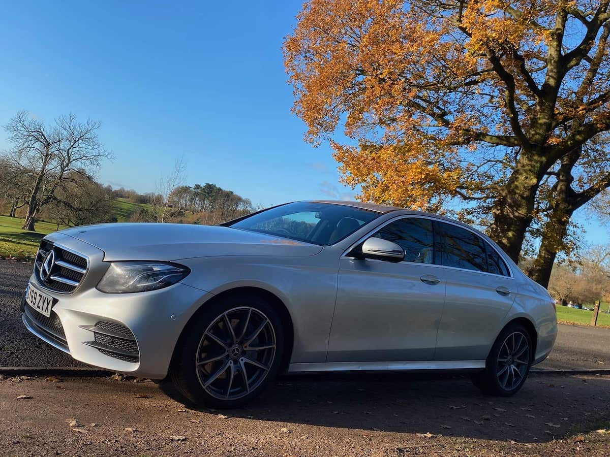 Mercedes E Class Chauffeur Car in Derby