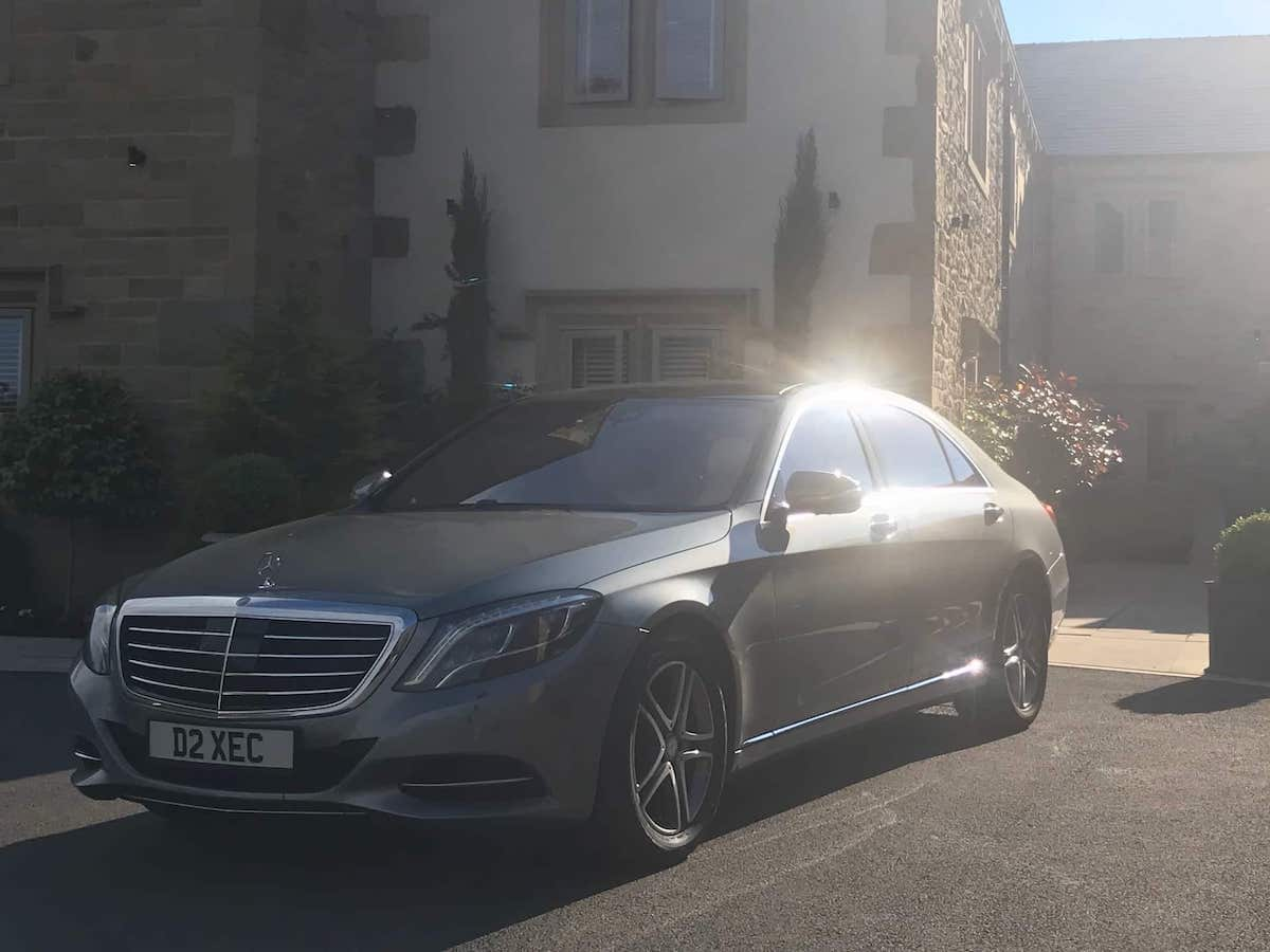 Be Chauffeured in style with the Mercedes S Class in Mickleover