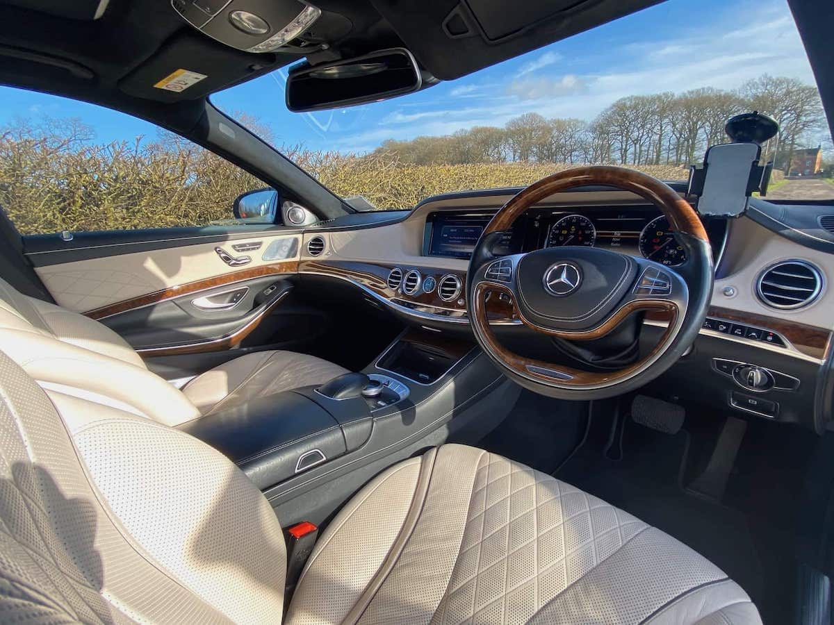 A52 Executive Cars Luxury Mercedes S Class chauffeur car