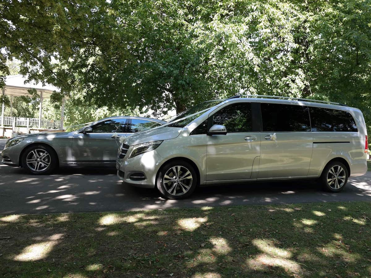 Little Eaton Wedding Car Hire in our S Class, E Class and V Class