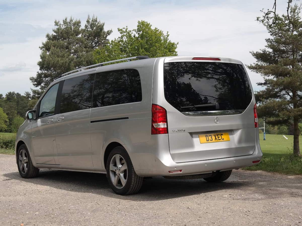 VIP Minibus Chauffeur service for your holiday transfer from Derby with A52 Executive Cars