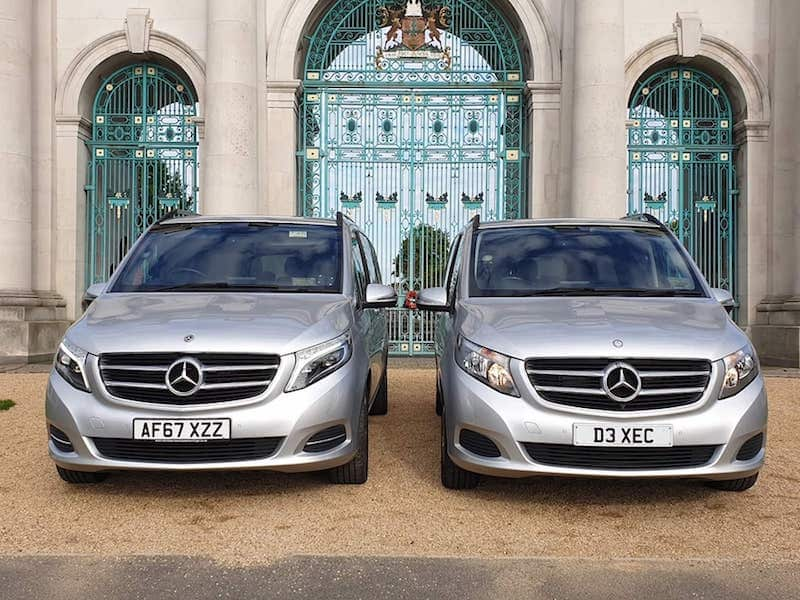 A52 Executive Cars Mercedes V Class on a Business Travel booking in Nottingham