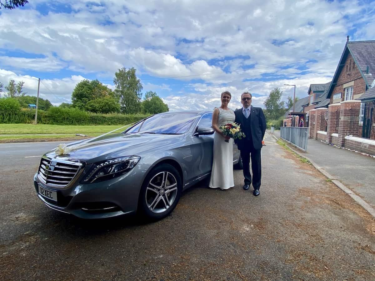 Mercedes S Class Wedding Car in Derby