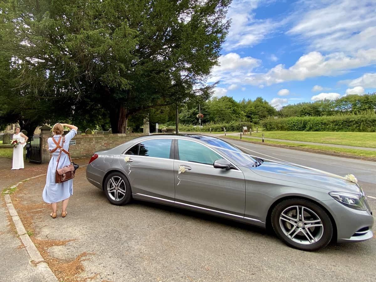 Derby Wedding Car Mercedes S Class
