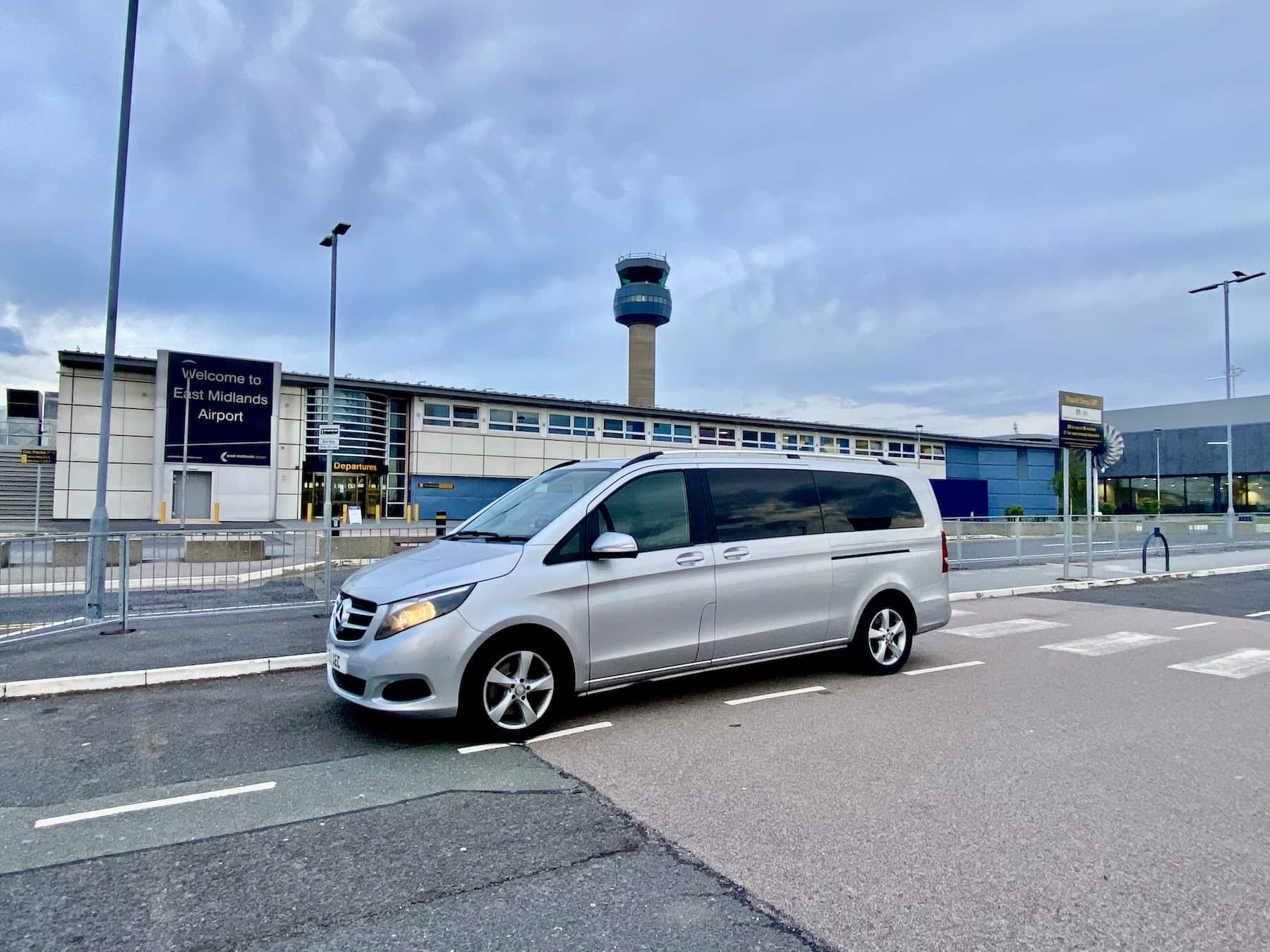 Shardlow Airport Transfer in our Mercedes V Class Minibus