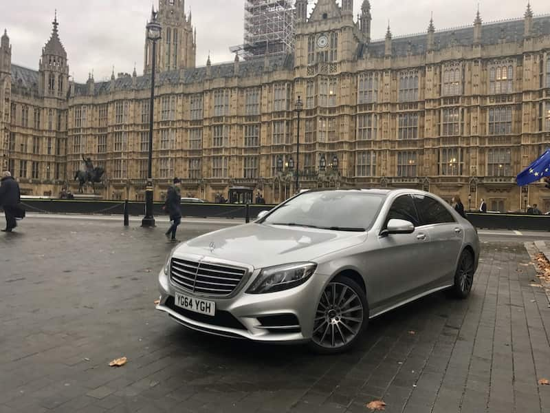 Derby to London Long Distance Travel Executive Taxi