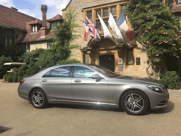 Long distance travel to Oxford in our Mercedes S Class