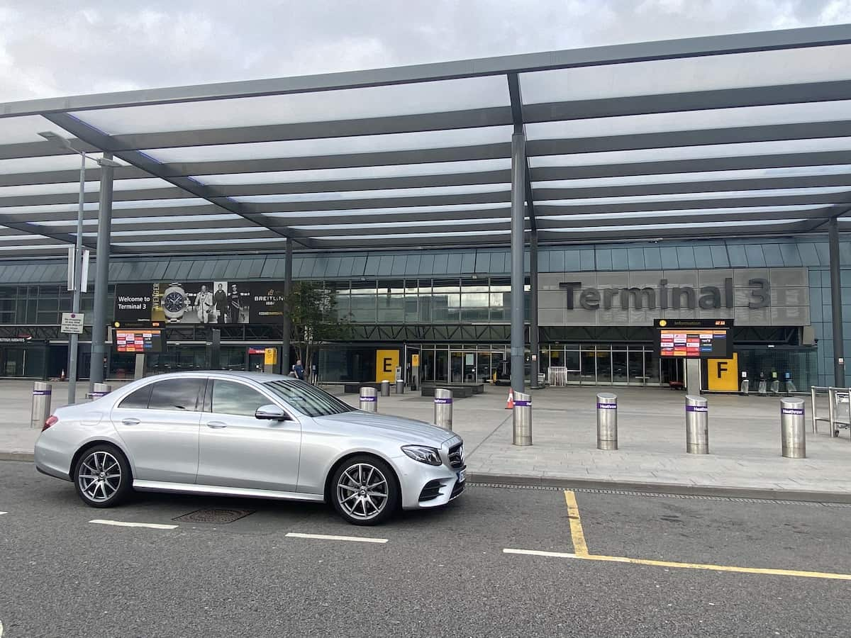 Executive Airport Taxi hire in Repton, Derbyshire