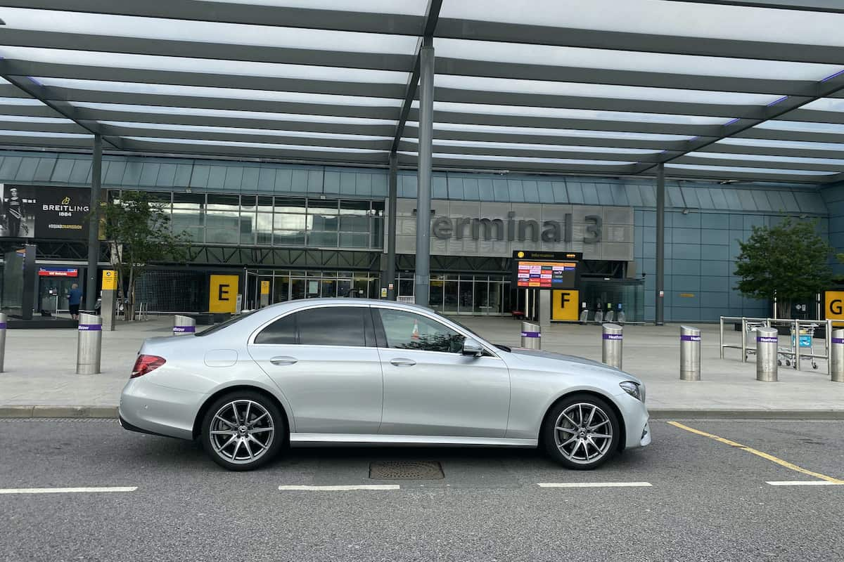 Derby based Executive Airport Taxi transfer to Heathrow Airport