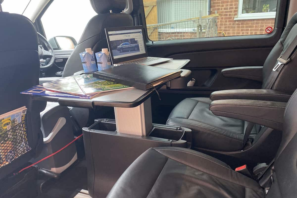 Work in comfort in our Mercedes V Class Business transfer Derby