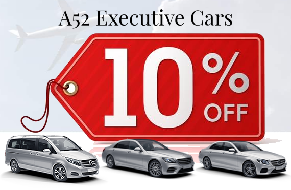 10% Discount on chauffeur hire in Derby
