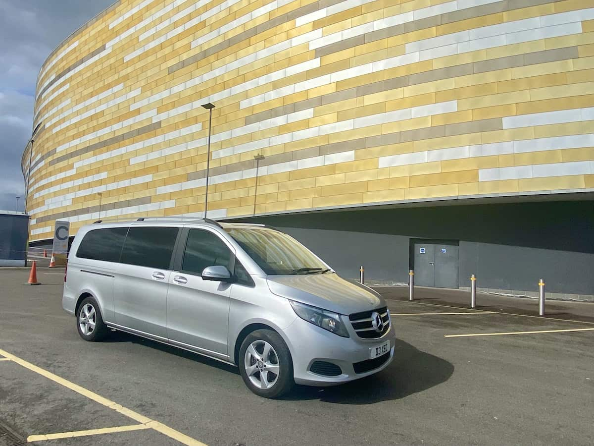 Mercedes V Class Chauffeur Service in Derby
