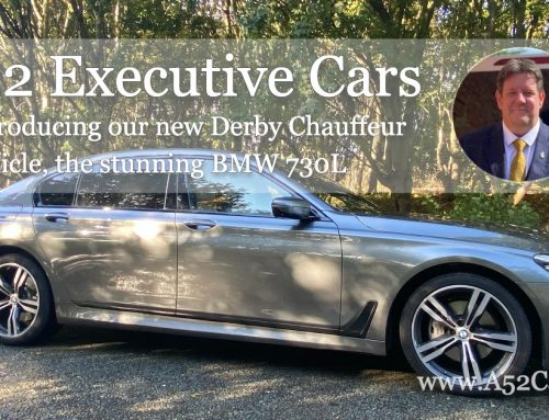 Introducing our new Derby Chauffeur hire vehicle, the stunning BMW 730L